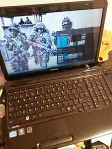 Toshiba Laptop new with upgrades