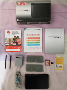 CIB mint condition Nintendo 3DS XL with all accessories-$200