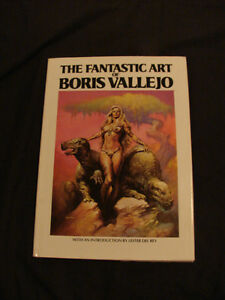 The Fantastic Art of Boris Vallejo...Beautiful Fantasy Art Book