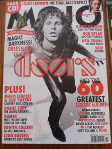 Mojo British music magazine featuring The Doors