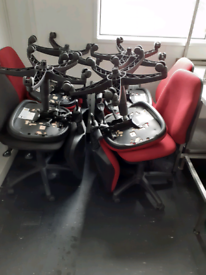 Office chairs x6