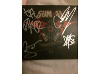 Sum 41 13 voices signed cd