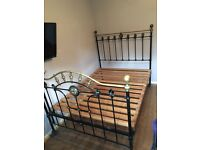 Beautiful Victorian double bed frame