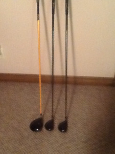 Tommy Armour Driver, 3 and 5 Woods