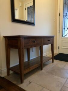 Rustic Wooden Accent/Sofa Table