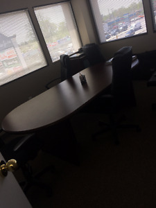 Conference Table (8 Feet) - 100$ or BEST OFFER
