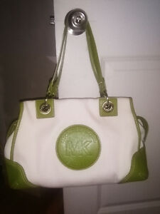 Michael Kors green spring handbag