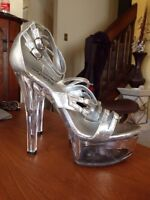 Brand New Fitness competition heels