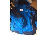 North face new men's boys coat