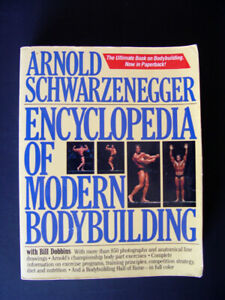 ARNOLD SCHWARZENEGGER ENCYCLOPEDIA OF MODERN BODY BUILDING