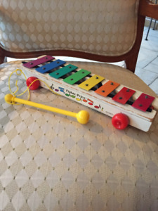Vintage Xylophone Fisher Price
