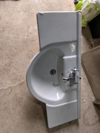 Large ceramic sink