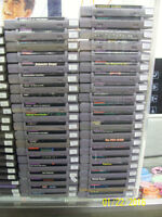 EXCELLENT SELECTION OF NES/SNES/N64 GAMES &SYSTEMS