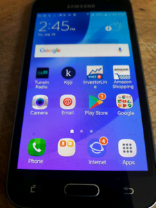 Samsung J1 cell phone for sale