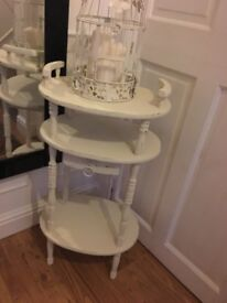 Shabby chic shelf stand £20 no Offer b on Avon