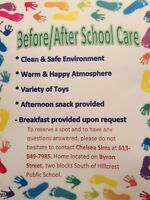 Before / After School Care