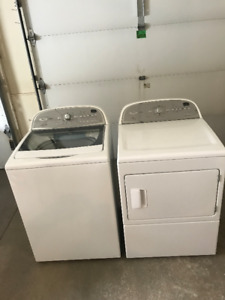 Whirlpool Cabrio Washer & Dryer plus Laundry Sink & Cabinet