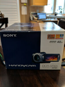 Video Camera for Sale - Brand New - Sony DCR-SR65
