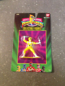Power Rangers Mini Action Figures (Vintage 1990s)!