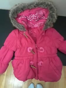 Manteau hivers fille