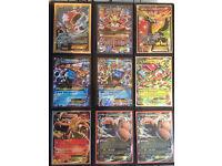 Pokemon Cards Full Art Mega EX Break rare holo