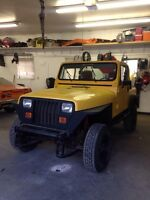 91 Jeep Wrangler ! MOVING MUST GO !