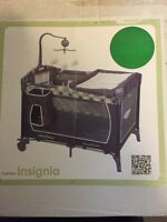 Unisex Playpen with Bassinet and Change Table