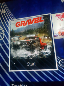 Looking for gravel ps4