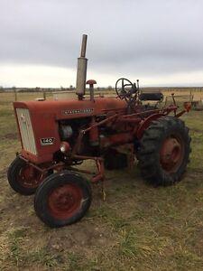 140 internationals tractor