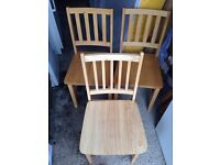 3 x Dining Chairs