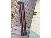T5 aero cross roof bars - used once - brand new