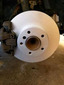 Brake/ wheel bearing installation