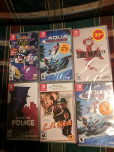 Switch games $20 each