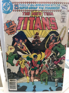 The New Teen Titans comics