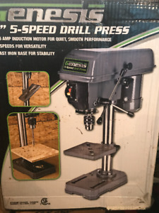 "GENESIS 8"" 5 SPEED DRILL PRESS"
