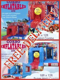 Brand New Bouncy Castles And Business Opportunity