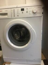 Bosch excel washing machine in good condition