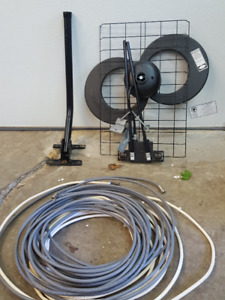 TV Antenna and cable