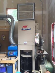 1500 cfm dust collector