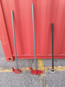 """1/2"""" and 3/4"""" conduit benders for sale"""