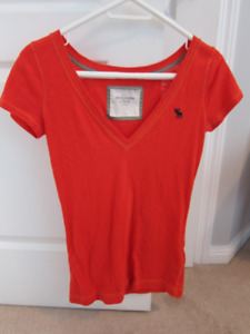 Assorted tops (abercrombie, hollister, aeropostale) $2 each