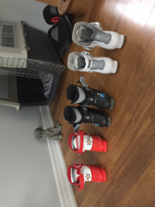 Kids skis and boots -  $60 each