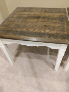 Two side tables/nightstands