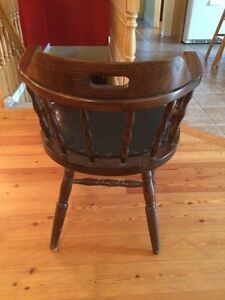 Solid Wood Desk Chair London Ontario image 3