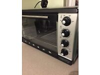 Oven With Rotisserie Convection Oven Timer Mini To 250° 2000 Watt 43 Liter