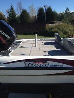 2008 Triton Bass Boat