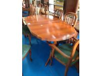 Dining table x5 chairs