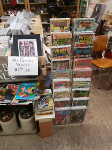BLOWOUT SALE ON COMICS $1 EACH