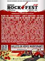 Ottawa june 18 and Rockfest.