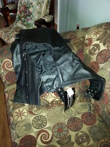 Never Worn/Womans Leather Chaps
